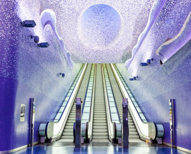 As mais incríveis estações de metrô da Europa