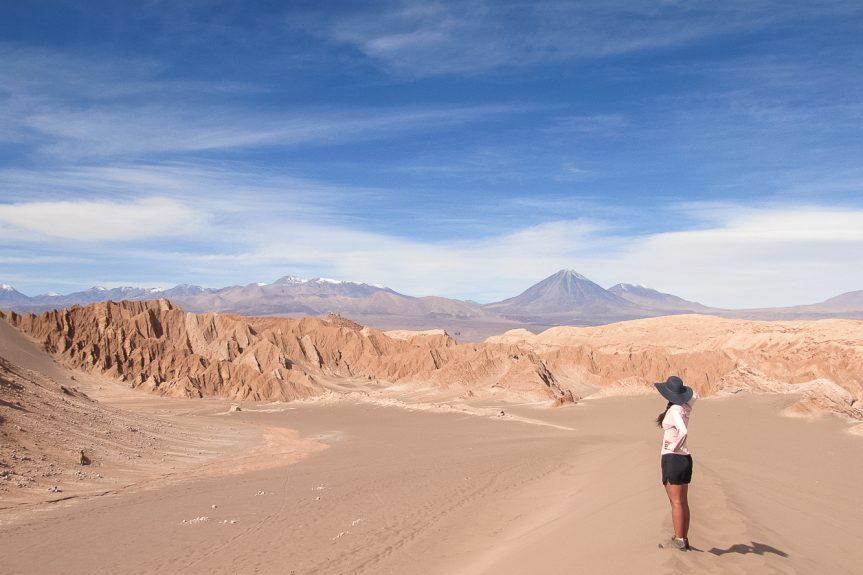 Valle de la Muerte e Valle de la Luna no Deserto do Atacama