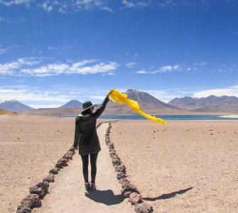 Lagunas Altiplânicas no Deserto do Atacama