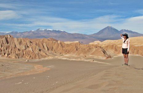 Onde fica o Deserto do Atacama