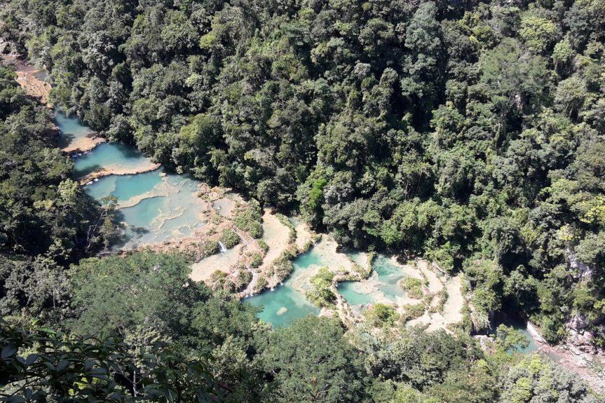 Semuc Champey na Guatemala