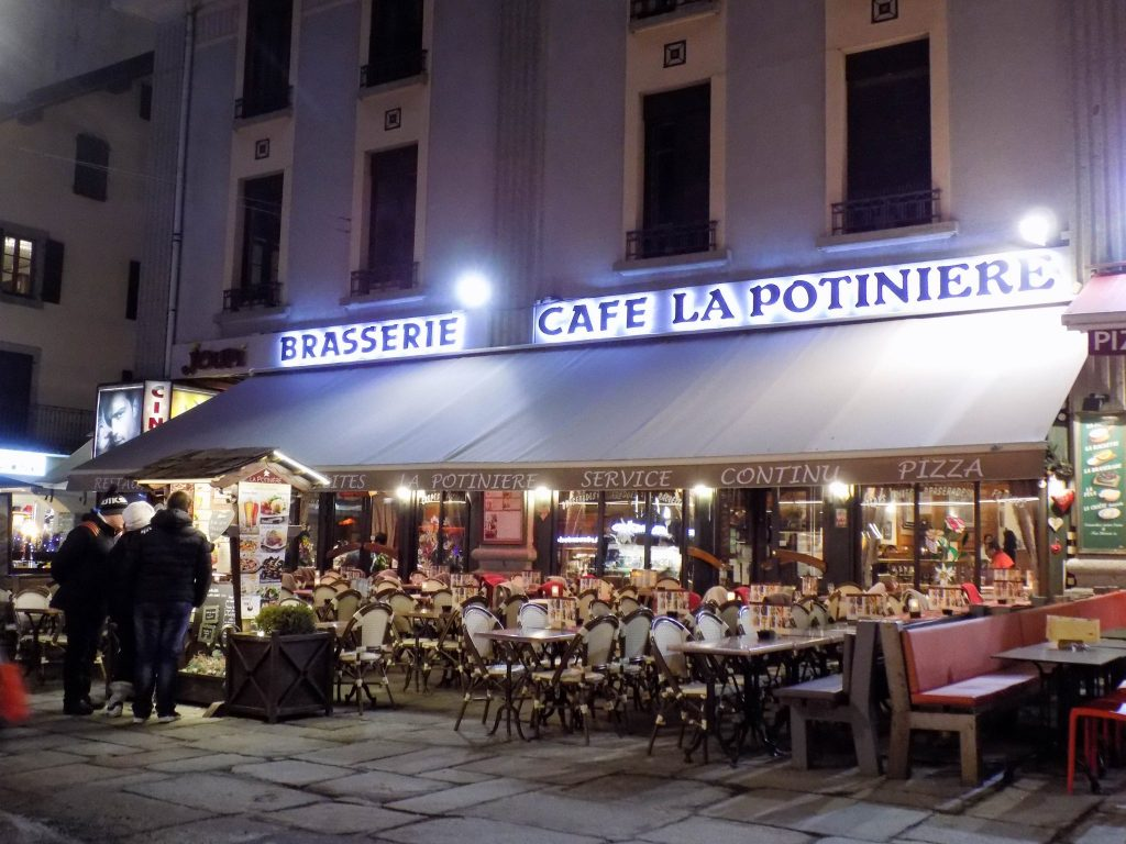 restaurantes chamonix
