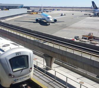 Metrô + Airtrain no JFK