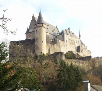 Vianden - Um passeio de um dia saindo em Luxemburgo