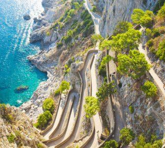 Como chegar em Capri