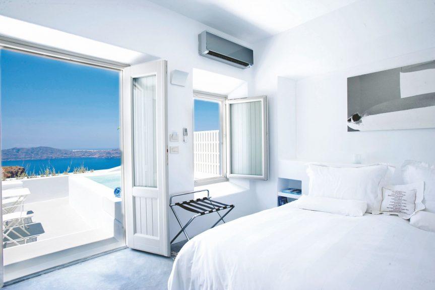 Hotéis bons e baratos em Santorini na Grécia