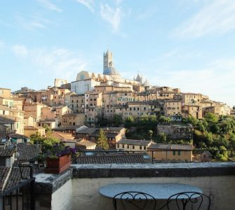 Hotéis bons e baratos em Siena na Toscana