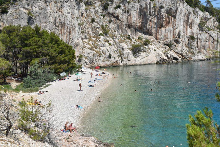 Nugal Beach - A mais linda praia da Riviera Makarska