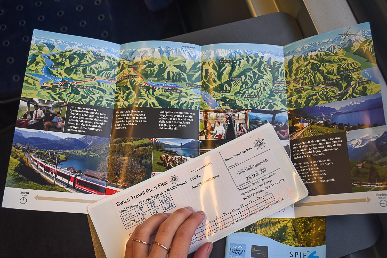 Como usar o Swiss Travel Pass