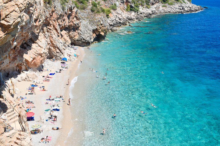 Melhores praias em Dubrovnik