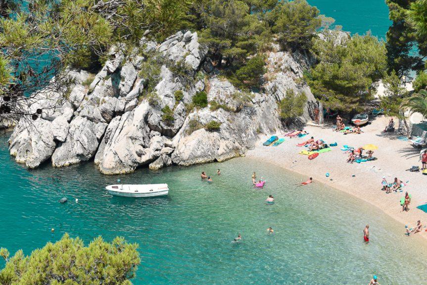 Riviera Makarska na Croácia