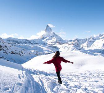 Viajar sozinha para a Suíça