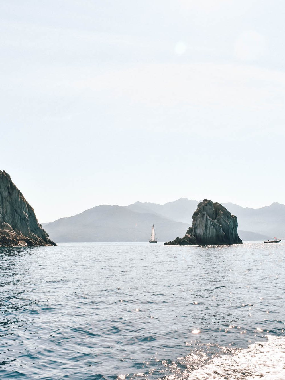 Alugar um barco por conta própria na Ilha de Elba na Itália