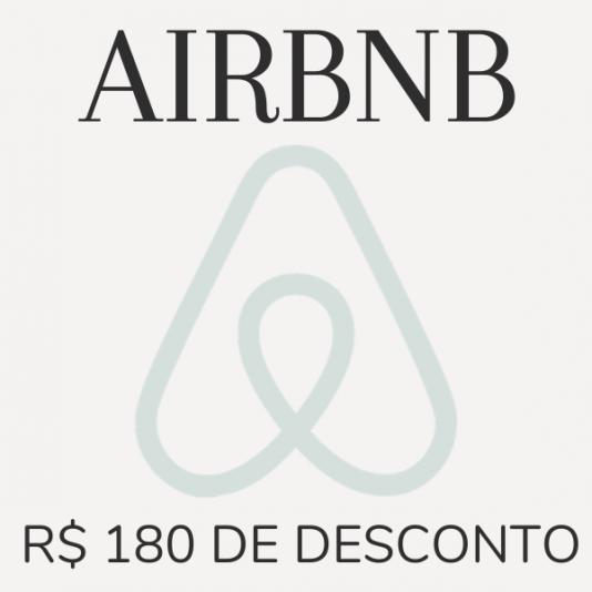 Cupom desconto no Airbnb