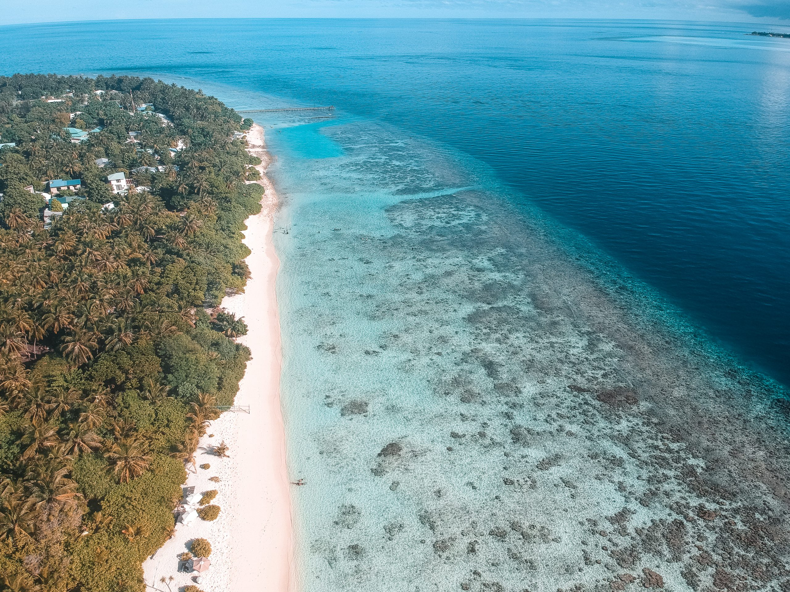 Viagem econômica para as Maldivas