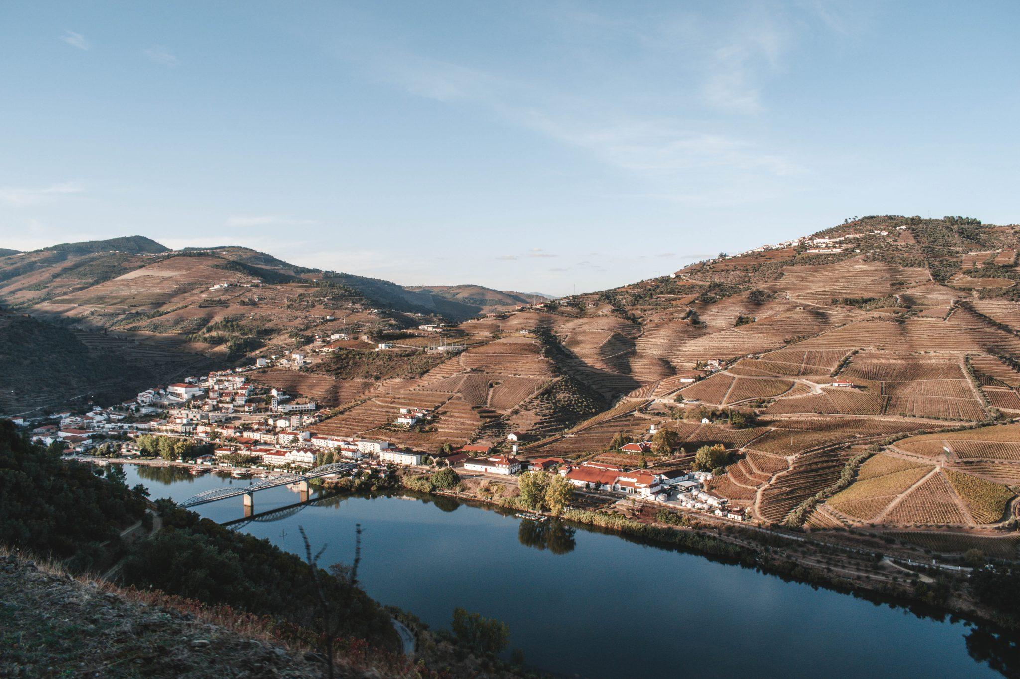 Trem histórico no Vale edo Douro