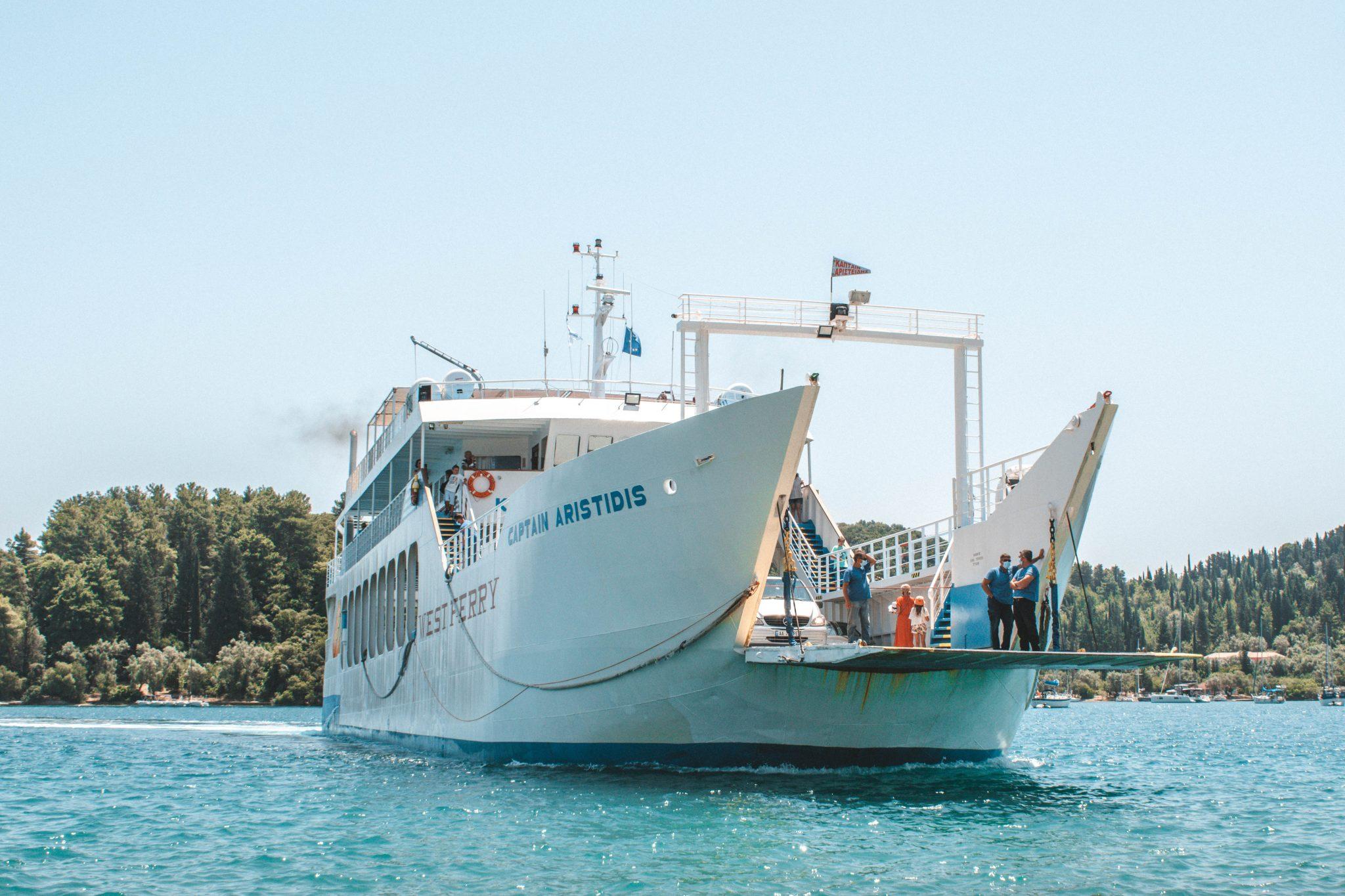 Ferry boat para Lefkada