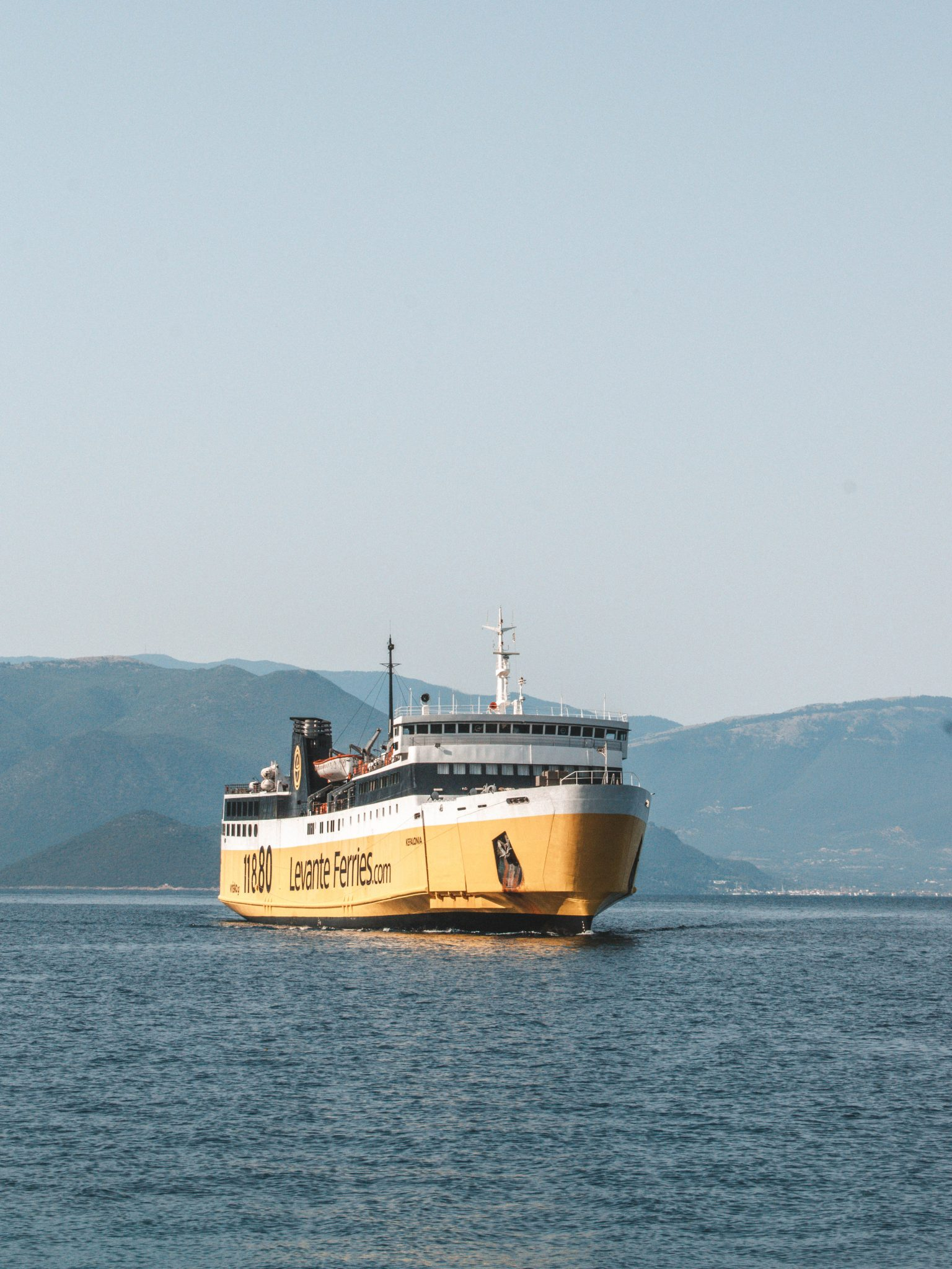 Ferry boat para Kefalonia