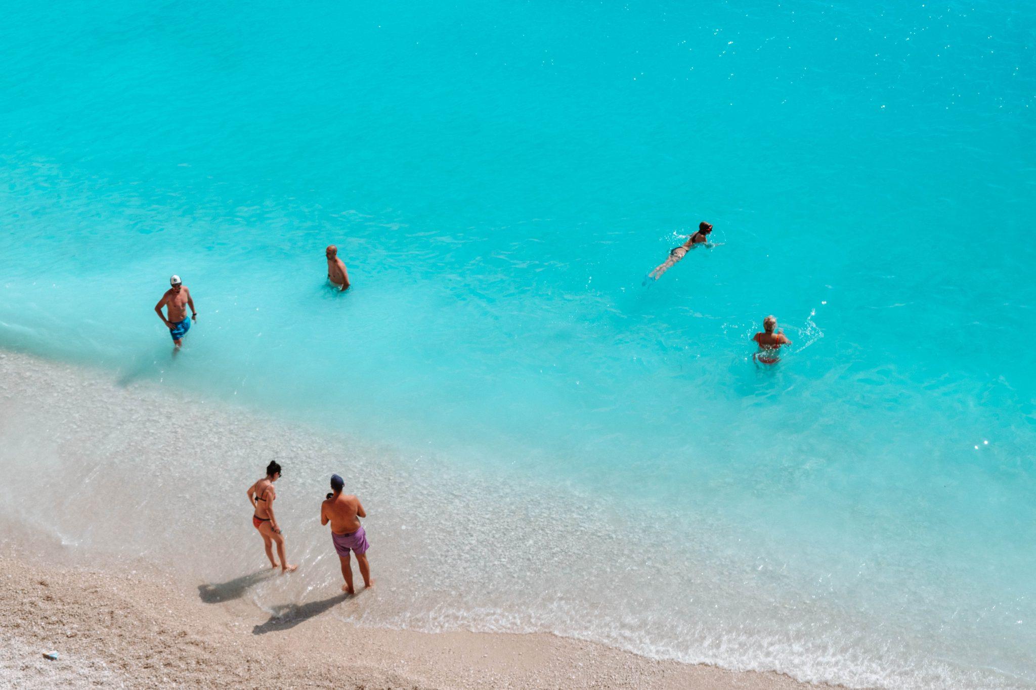 Melhores praias Lefkada