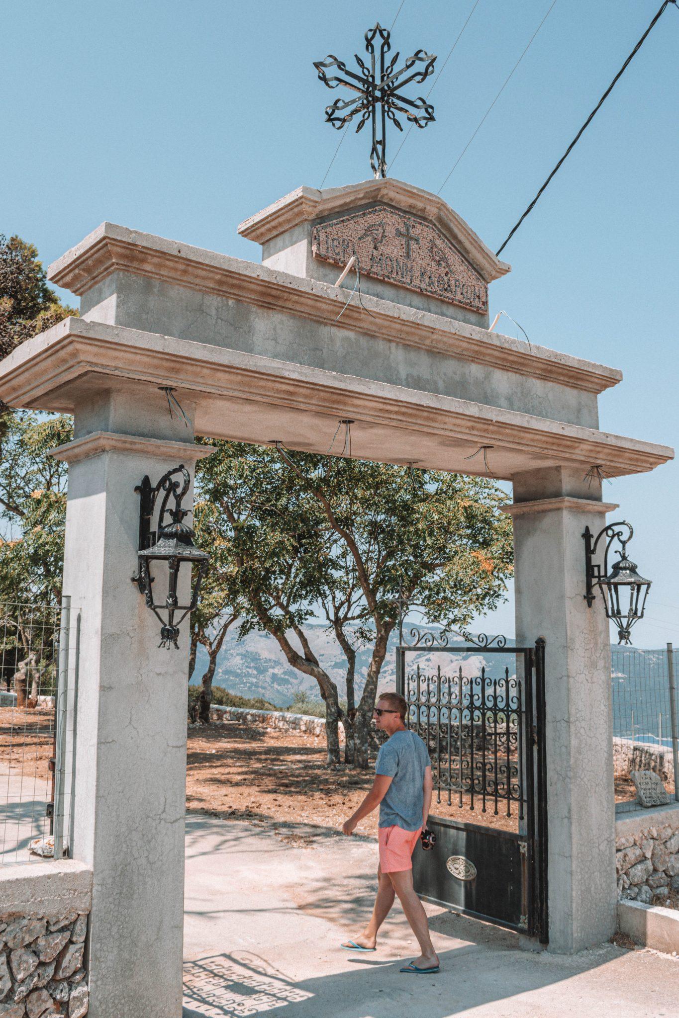 Atrações turísticas em Ithaca Grécia