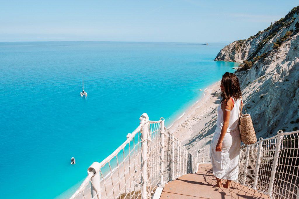 Egremini Beach em Lefkada
