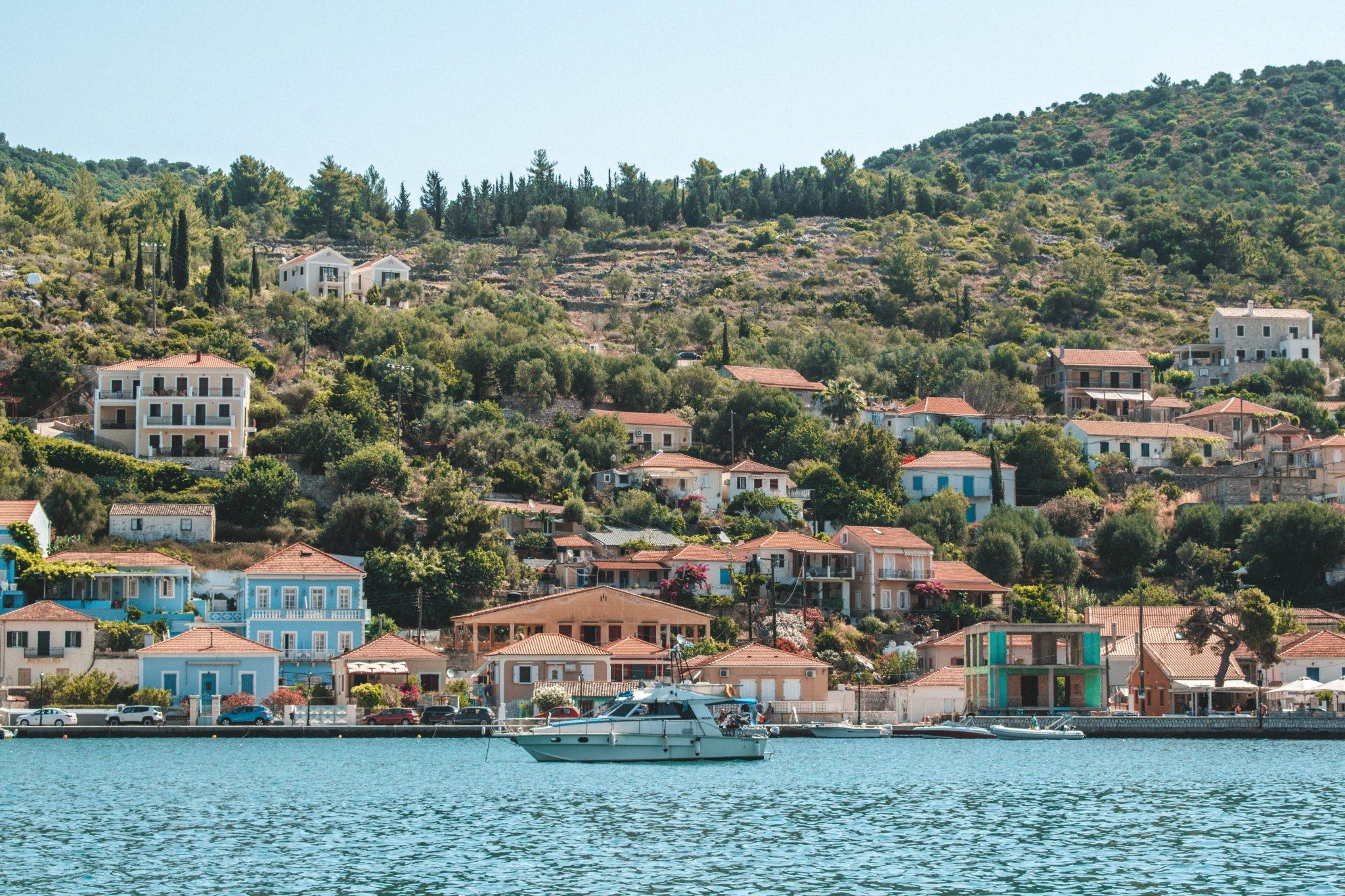 Hotéis em Ithaca Grécia