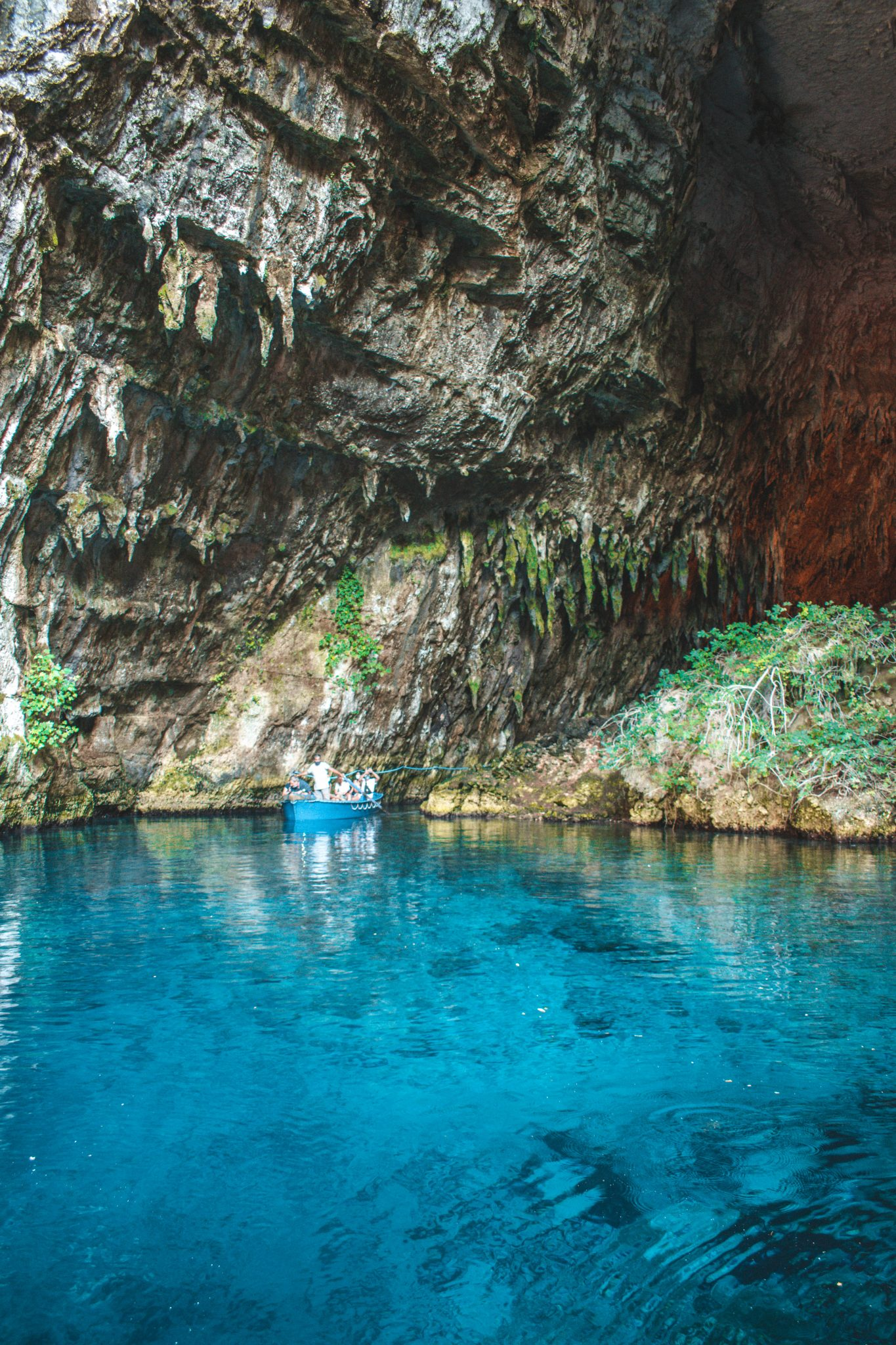 Melissani Lake na Grécia